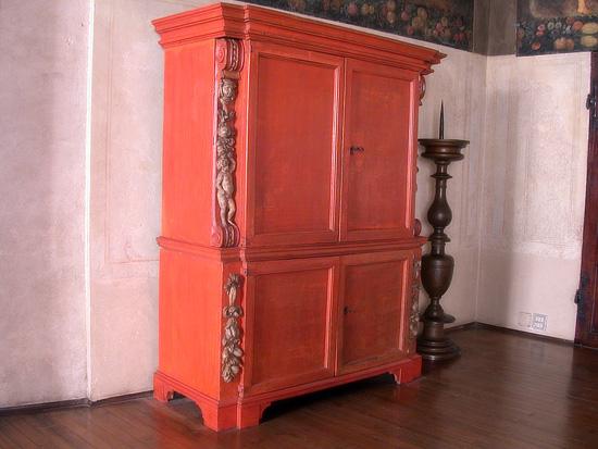 Armadio Antico Laccato : Armadi legno antichi: armadio cornici di legno macchia ancora in